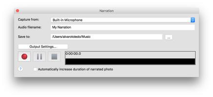 PhotoStage Free Slideshow Maker for Mac screenshot 5
