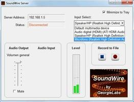 SoundWire Server screenshot 2