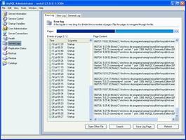 MySQL Administrator screenshot 5