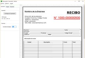Numerador Custombit screenshot 2