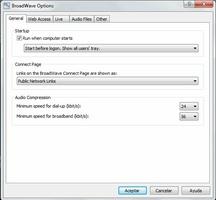 BroadWave Streaming Audio screenshot 4