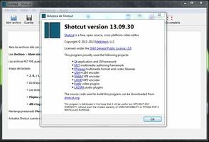 Shotcut screenshot 2