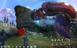 Halo: Reach Windows 7 Theme screenshot 3