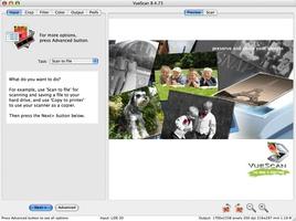 VueScan screenshot 3