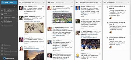 TweetDeck screenshot 2