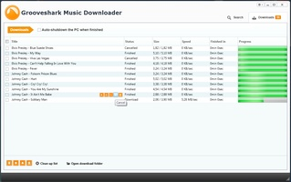 Grooveshark Music Downloader screenshot 3