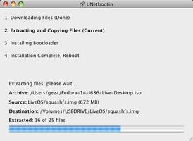 UNetbootin screenshot 2