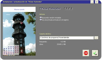 TKexe Kalender screenshot 2