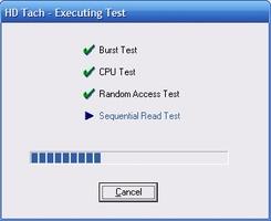 HD Tach screenshot 6