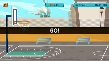 Basketball Bubble Toss Burst Free Mega Super Games screenshot 3