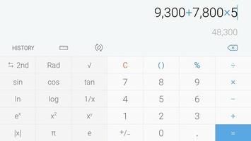Samsung Calculator screenshot 6