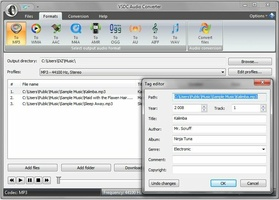 VSDC Free Audio Converter screenshot 3