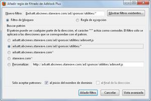 AdBlock Plus for Firefox screenshot 2