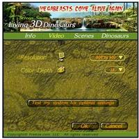 3D Dinosaurs Screensaver screenshot 5