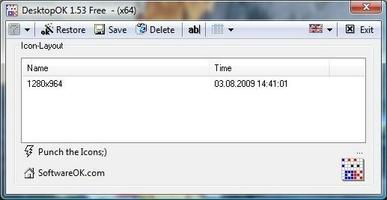 DesktopOK screenshot 3