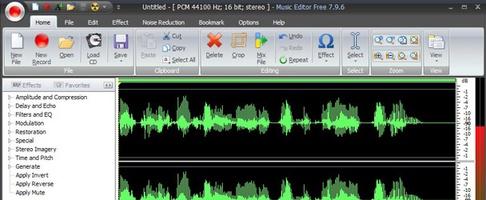 Music Editor Free screenshot 4