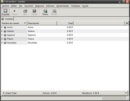 GnuCash Portable screenshot 3