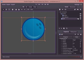 Godot Engine screenshot 2