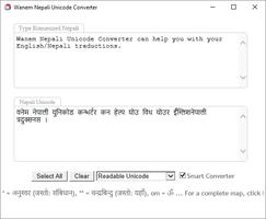 Wanem Unicode Converter screenshot 4
