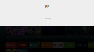 Google app for Android TV screenshot 3