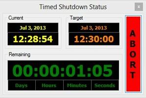 Timed Shutdown screenshot 4
