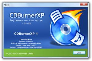 CDBurnerXP screenshot 5