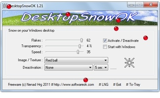 DesktopSnowOK screenshot 3