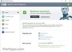 NOD32 Antivirus screenshot 2