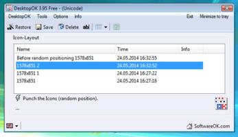 DesktopOK screenshot 5