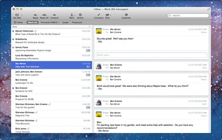Postbox screenshot 2