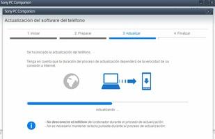 Sony PC Companion screenshot 3