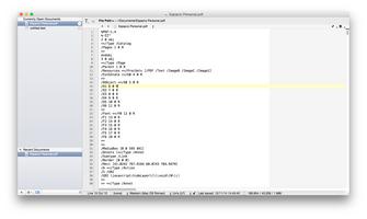 TextWrangler screenshot 2