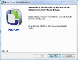 Nokia Connectivity Cable Driver screenshot 2