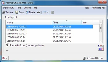 DesktopOK screenshot 4