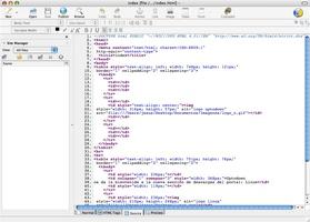 Kompozer screenshot 3