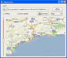 GMapCatcher screenshot 4