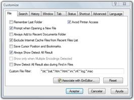 EmEditor Professional screenshot 3