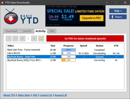 YTD Video Downloader screenshot 4