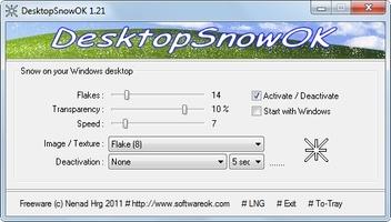 DesktopSnowOK screenshot 4