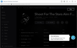 Macsome Tidal Music Downloader screenshot 2