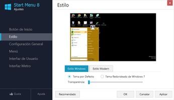 Start Menu 8 screenshot 2