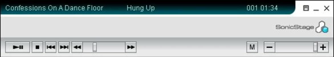 SonicStage screenshot 5