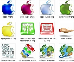 Pack 3D Icons screenshot 4
