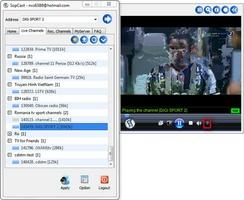 SopCast screenshot 2