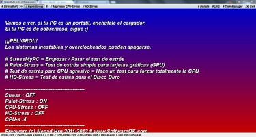 StressMyPC screenshot 2