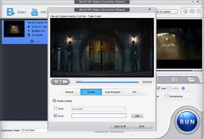 WinX HD Video Converter Deluxe screenshot 6