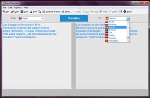 Eurotraductor screenshot 4