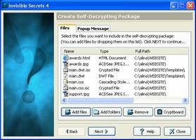 Invisible Secrets screenshot 4