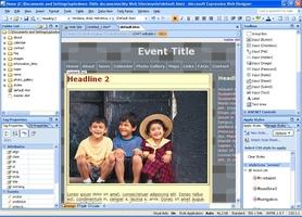 Microsoft Expression Web screenshot 2