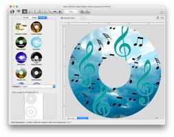 Mac CD/DVD Label Maker screenshot 5